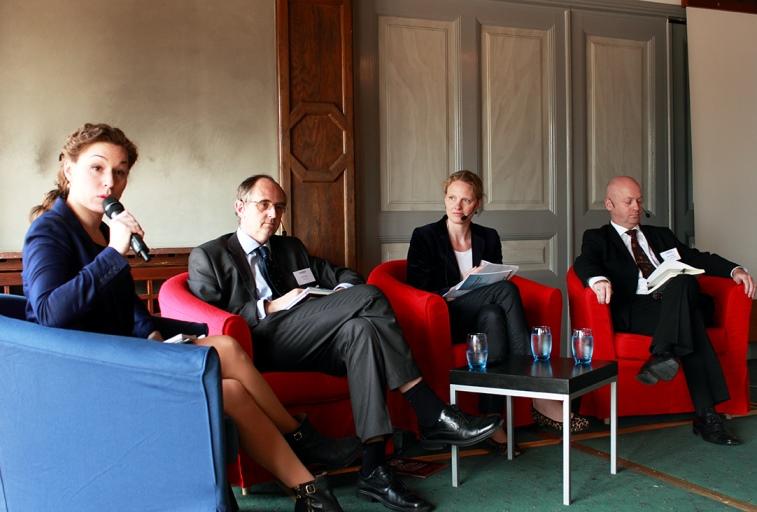 Paneldiskussion. Foto Erika Aldenberg