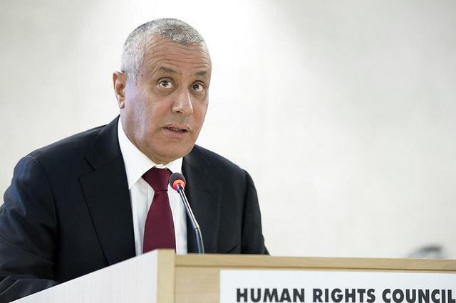 Ali Zeidan. Foto: Förenta Nationerna