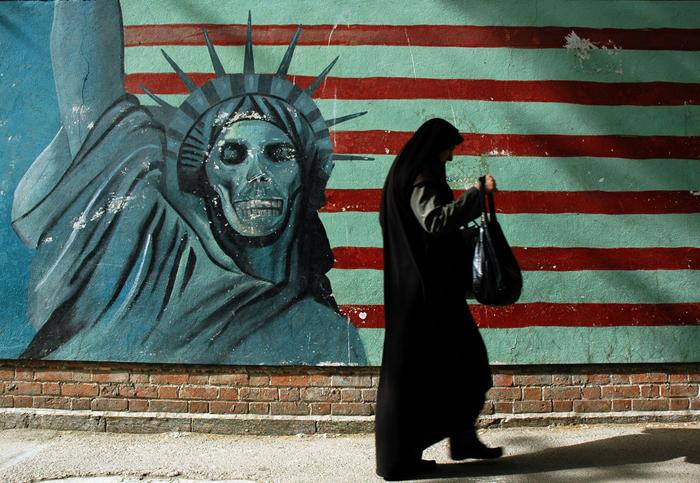 """Är Iran på väg at överge bilden av USA som """"Stora Satan""""? Foto: [John]/Flickr"""