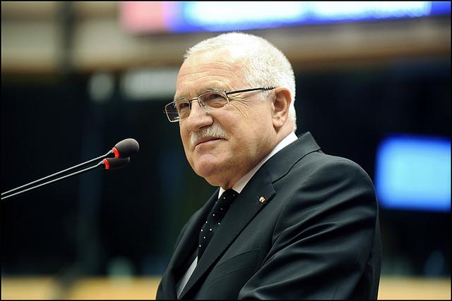 Den tjeckiska borgerlighetens frontfigur, Vaclav Klaus. Foto: Europaparlamentet/ Pietro Naj-Oleari