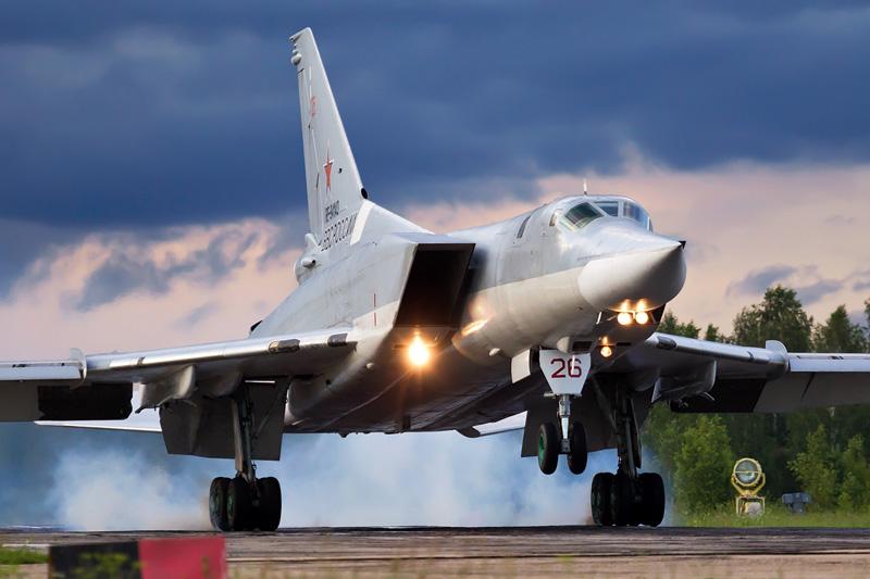 På långfredagen 2013 övade ryska bombflyg av typen Tupolev Tu-22M3 anflygning mot Sverige. Foto: Wikimedia.